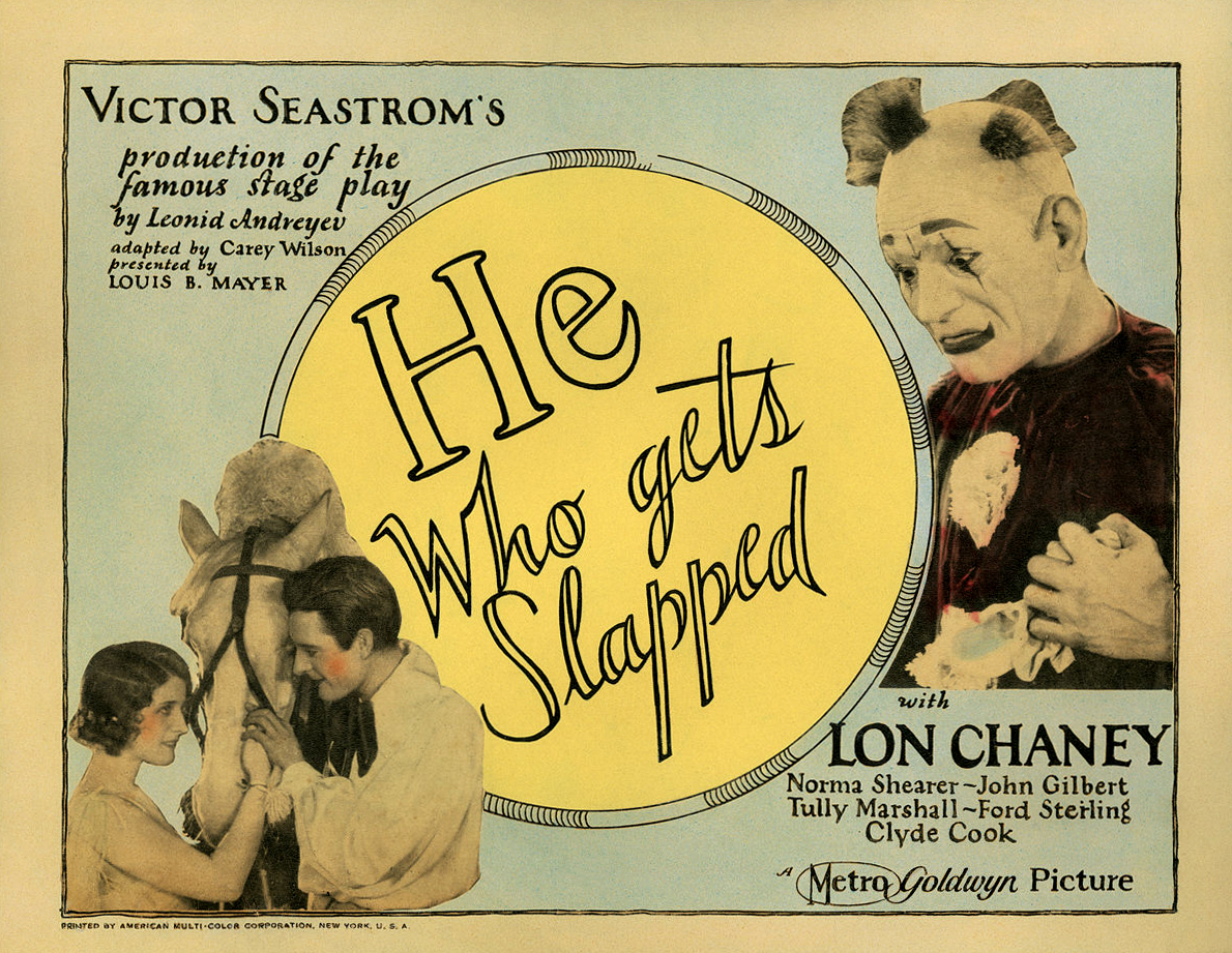 File:Poster - He Who Gets Slapped 02.jpg - Wikimedia Commons