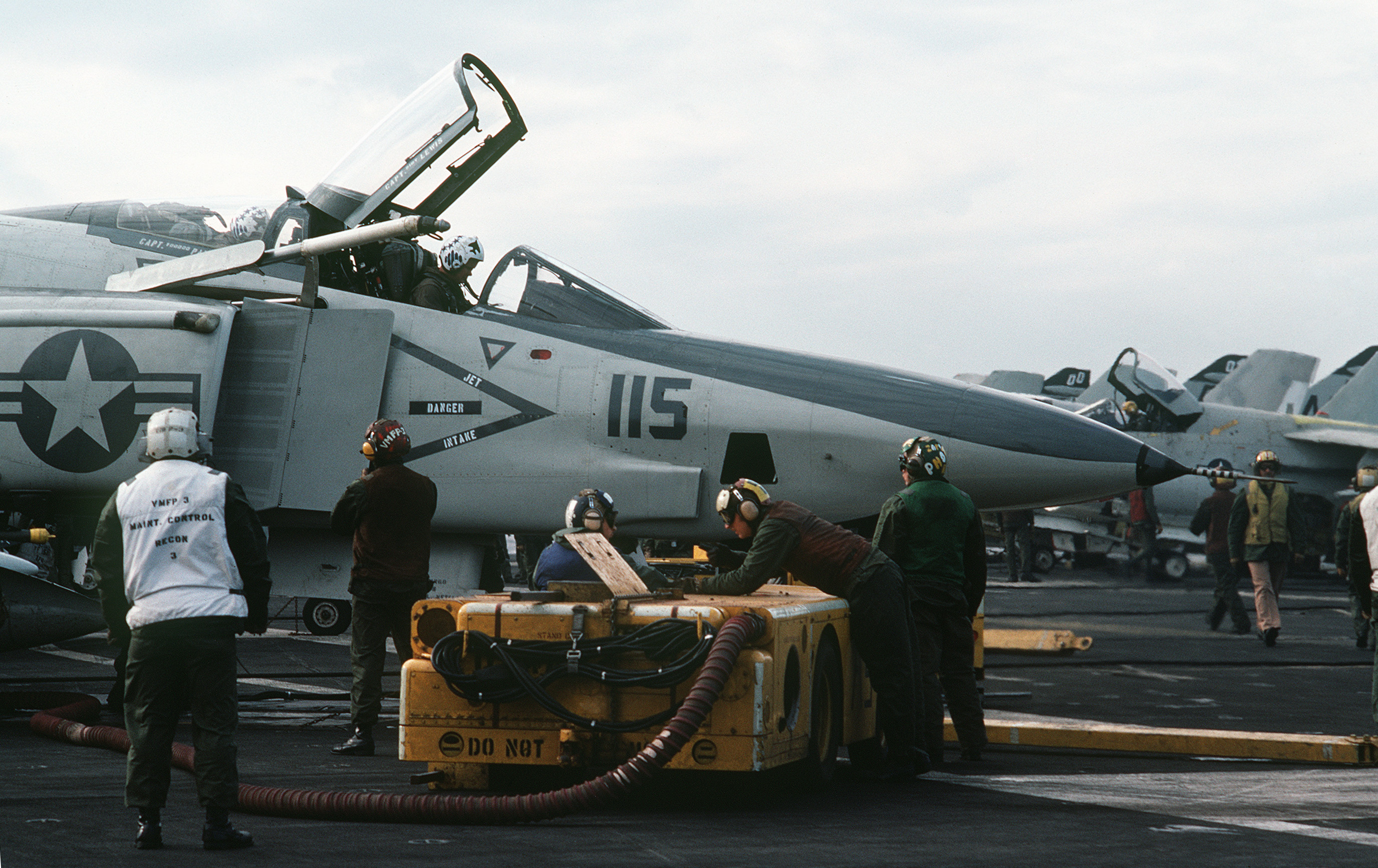 file rf-4b on uss midway nov 1981 jpeg