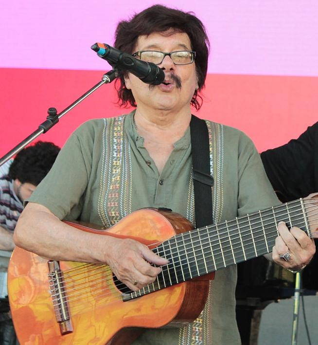 Ramón Ayala en un festival en Misiones (5 de junio de 2014)