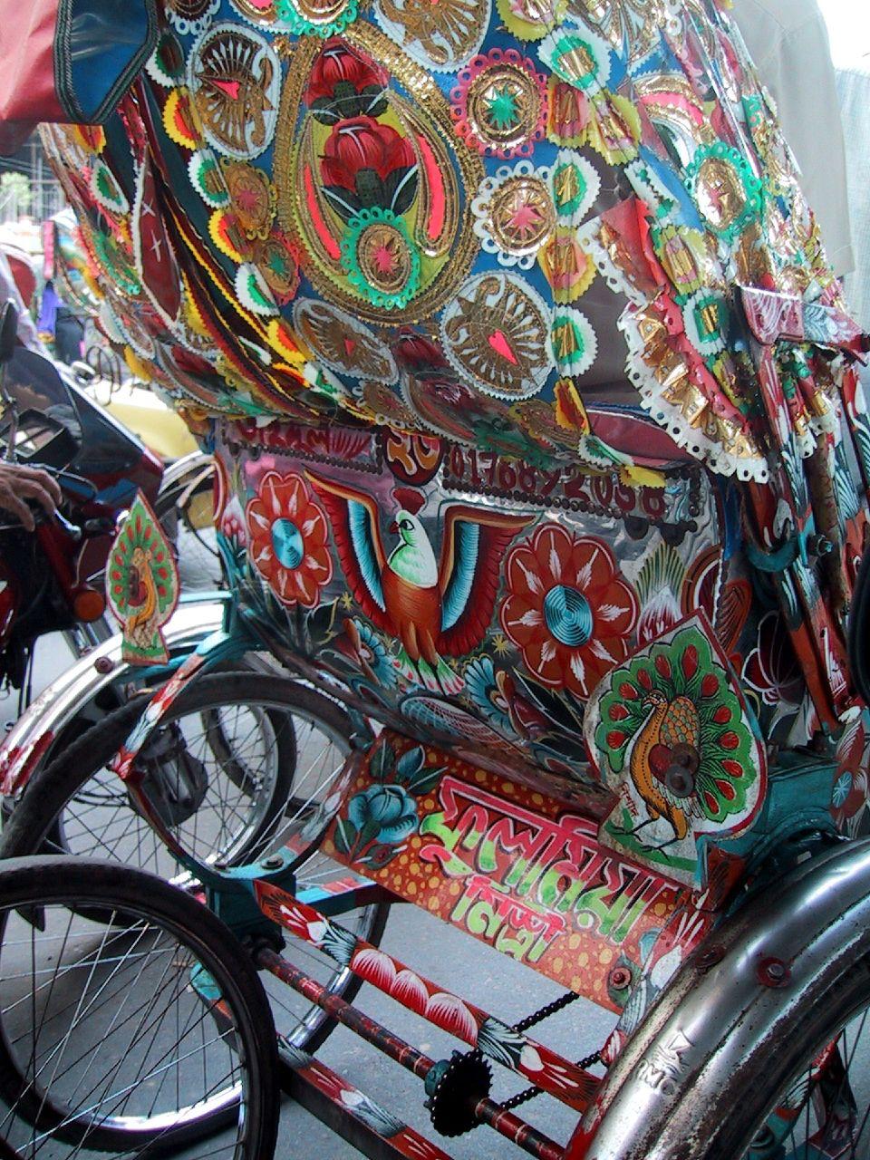 Rickshaw Art In Bangladesh Wikipedia