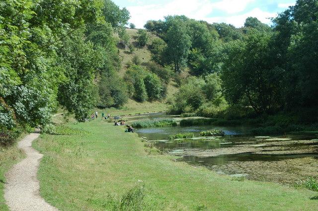 River Lathkill near Conksbury - geograph.org.uk - 765402