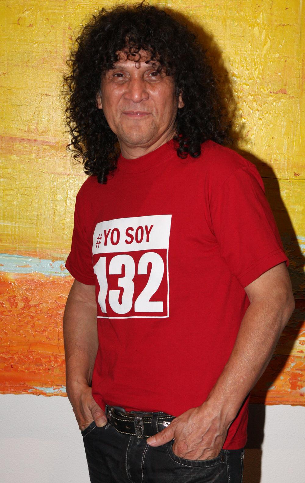 Roberto Márquez, miembro fundador del grupo.