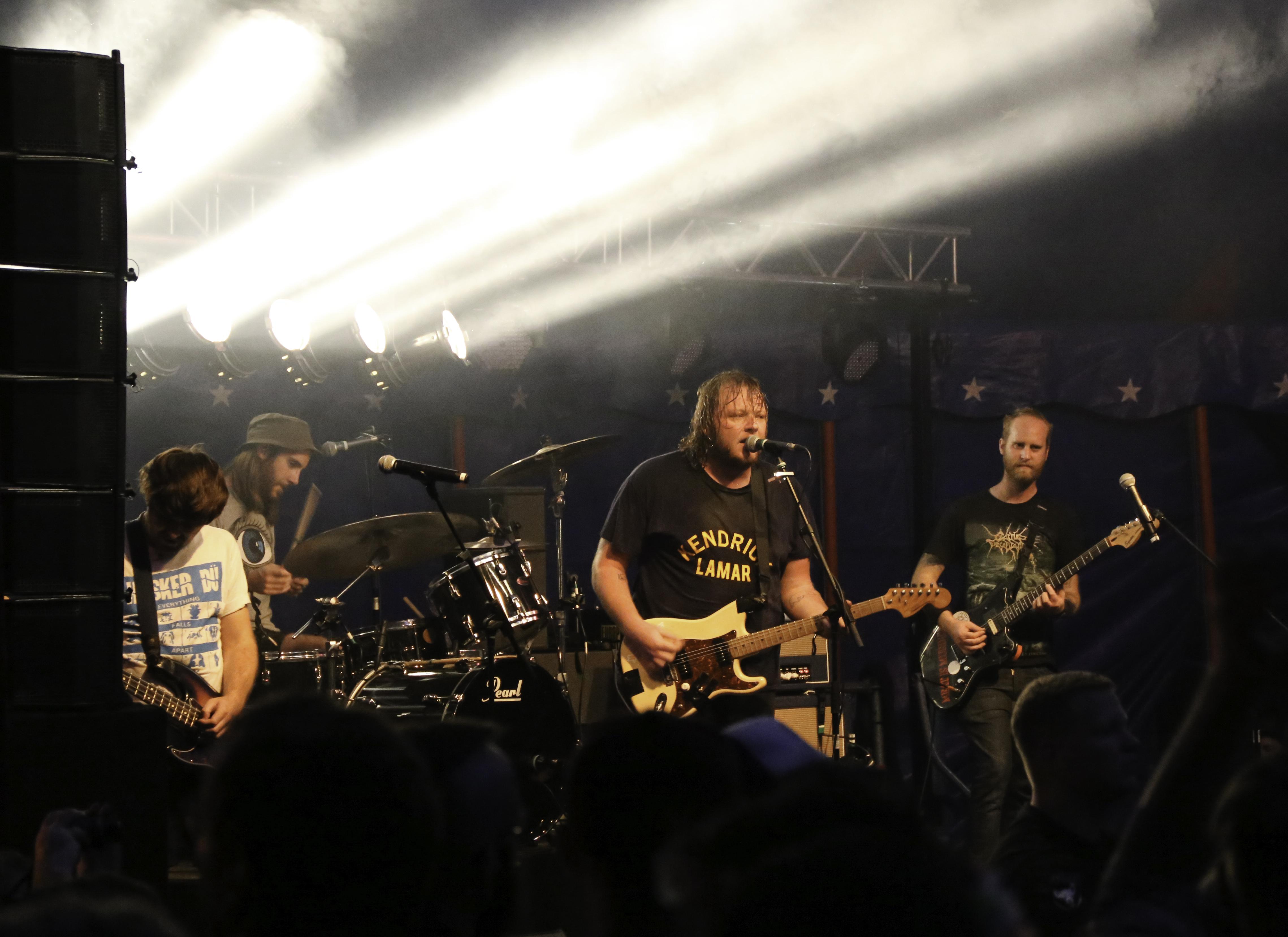 The Smith Street Band beim Rocken am Brocken 2016