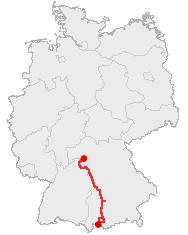 Romantic Road Wikipedia - Germany map romantic road