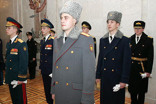 Russian military uniforms 2018