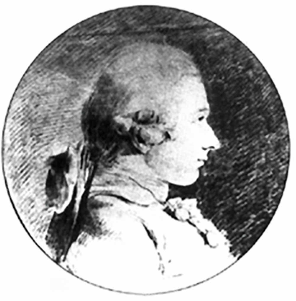 Portrait of Marquis de Sade by Charles-Amédée-Philippe van Loo (1761)
