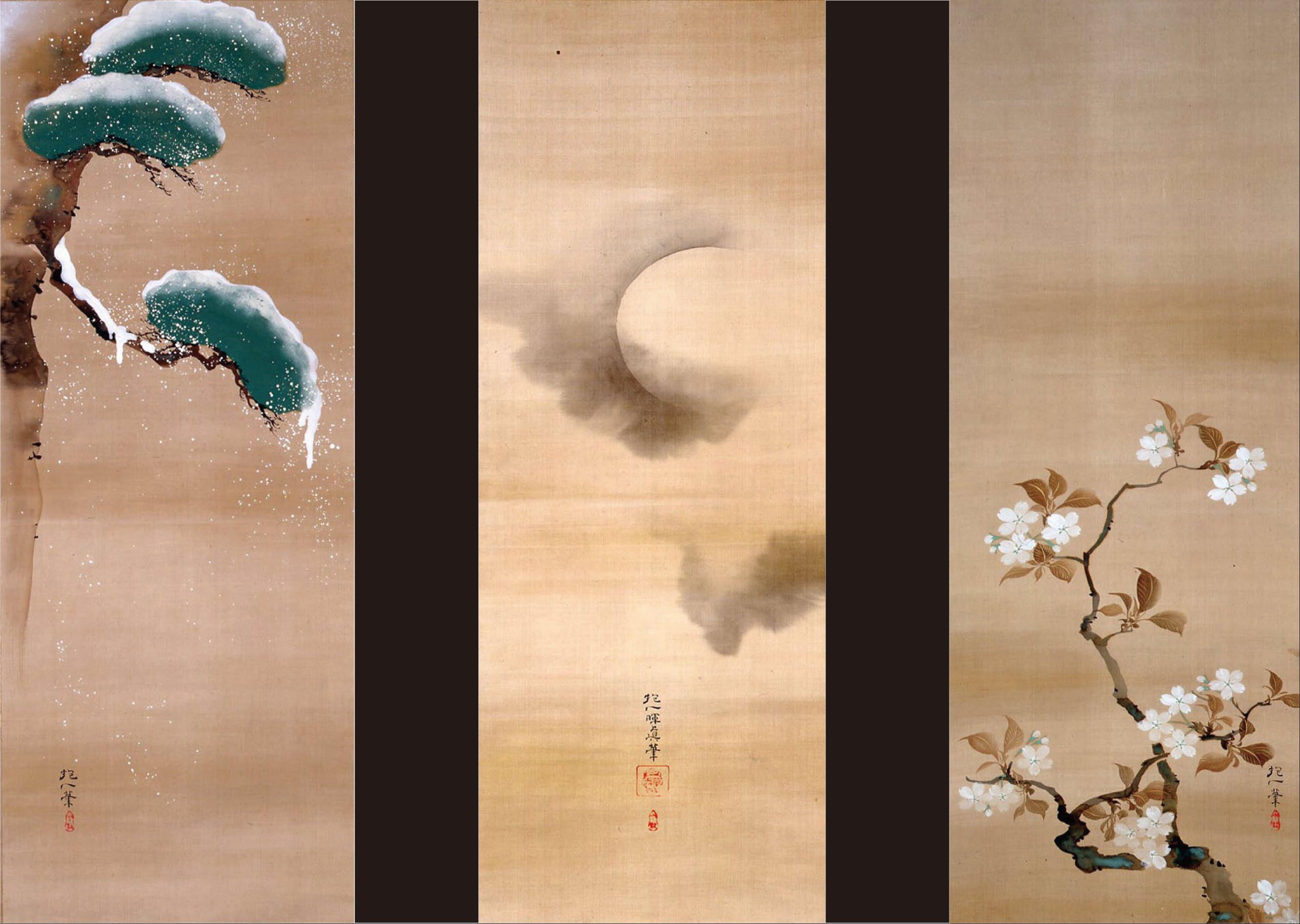 File Sakai Hoitsu Snow Moon And Flowers Google Art