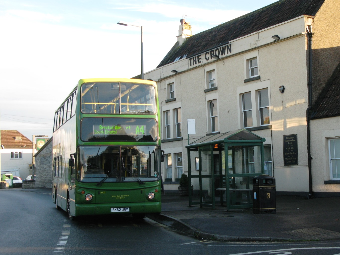 File:Saltford Crown - Bath Bus Company A502 (SK52URY) JPG