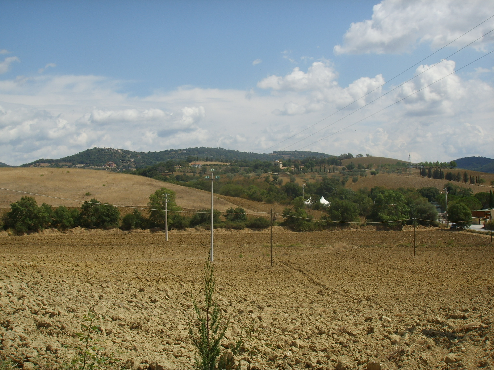 Saturnia, colline