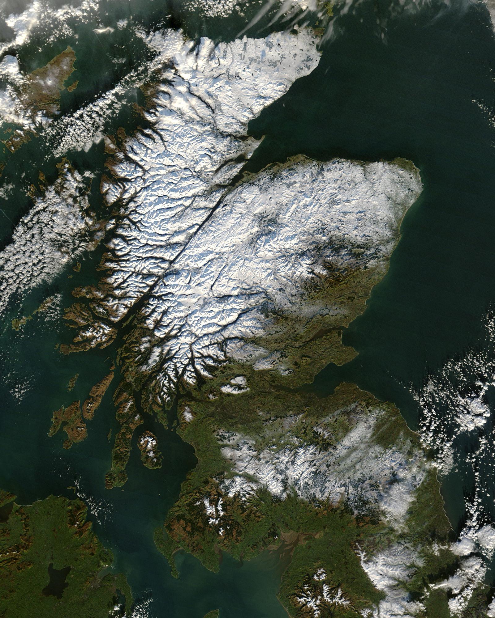 FileScotland From Satellitejpg Wikimedia Commons - Photos from satellite