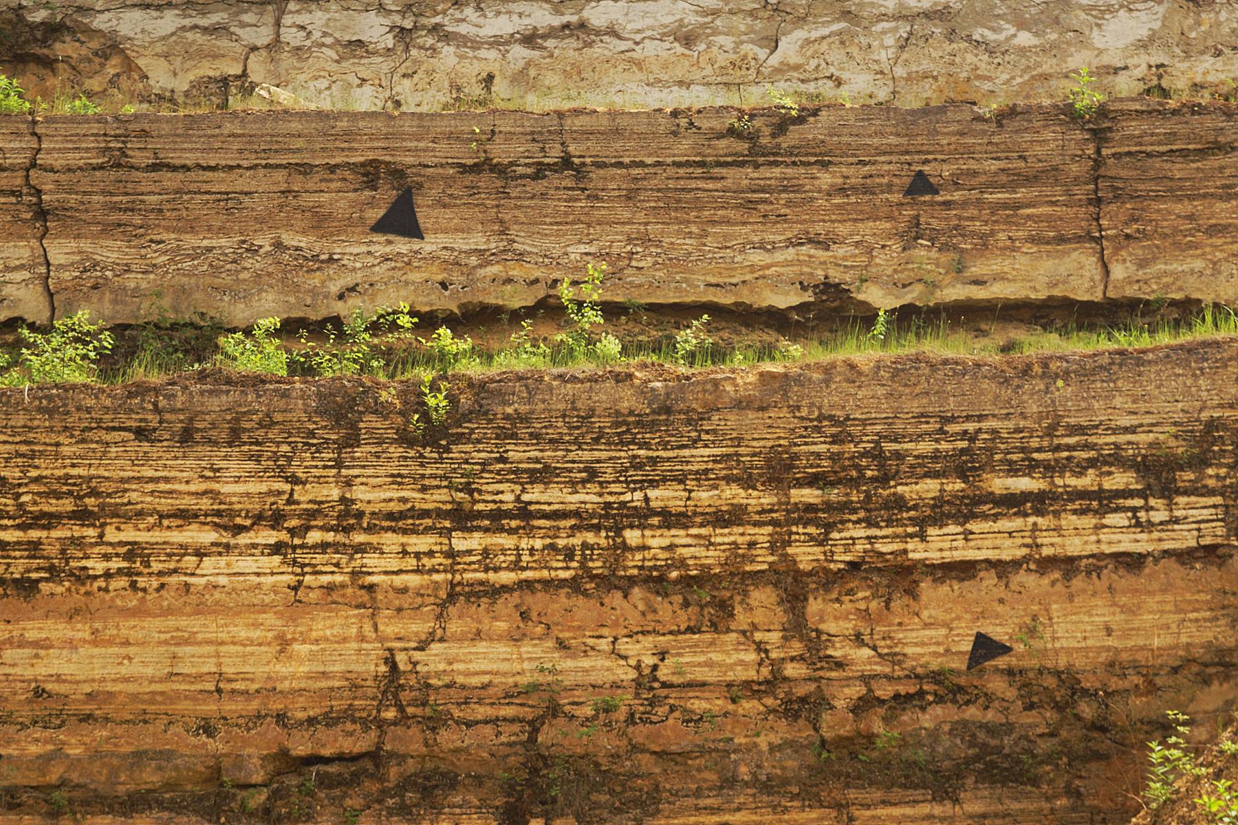 Travertin Bad file sedimentschichten travertin neckar bad cannstatt jpg