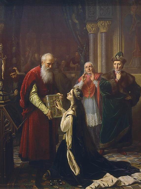 Przysięga królowej Jadwigi