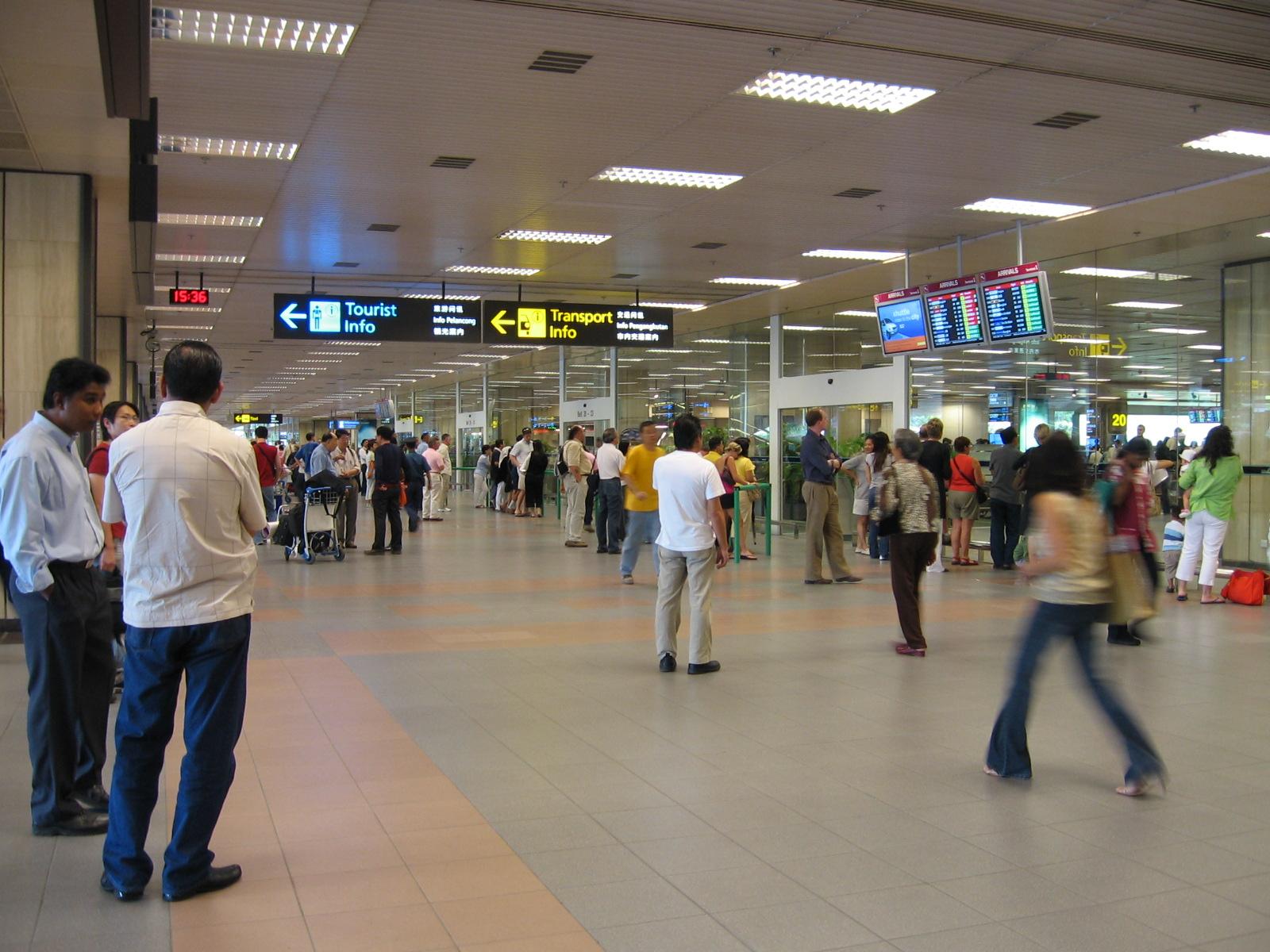 file singapore changi airport terminal 1 arrival hall. Black Bedroom Furniture Sets. Home Design Ideas