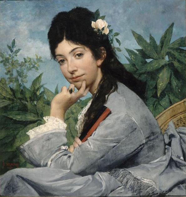Portrait de Mademoiselle Stéphanie Brousset