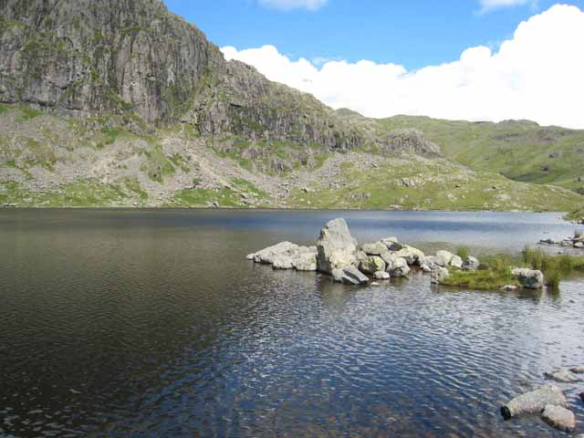Stickle Tarn - geograph.org.uk - 490580