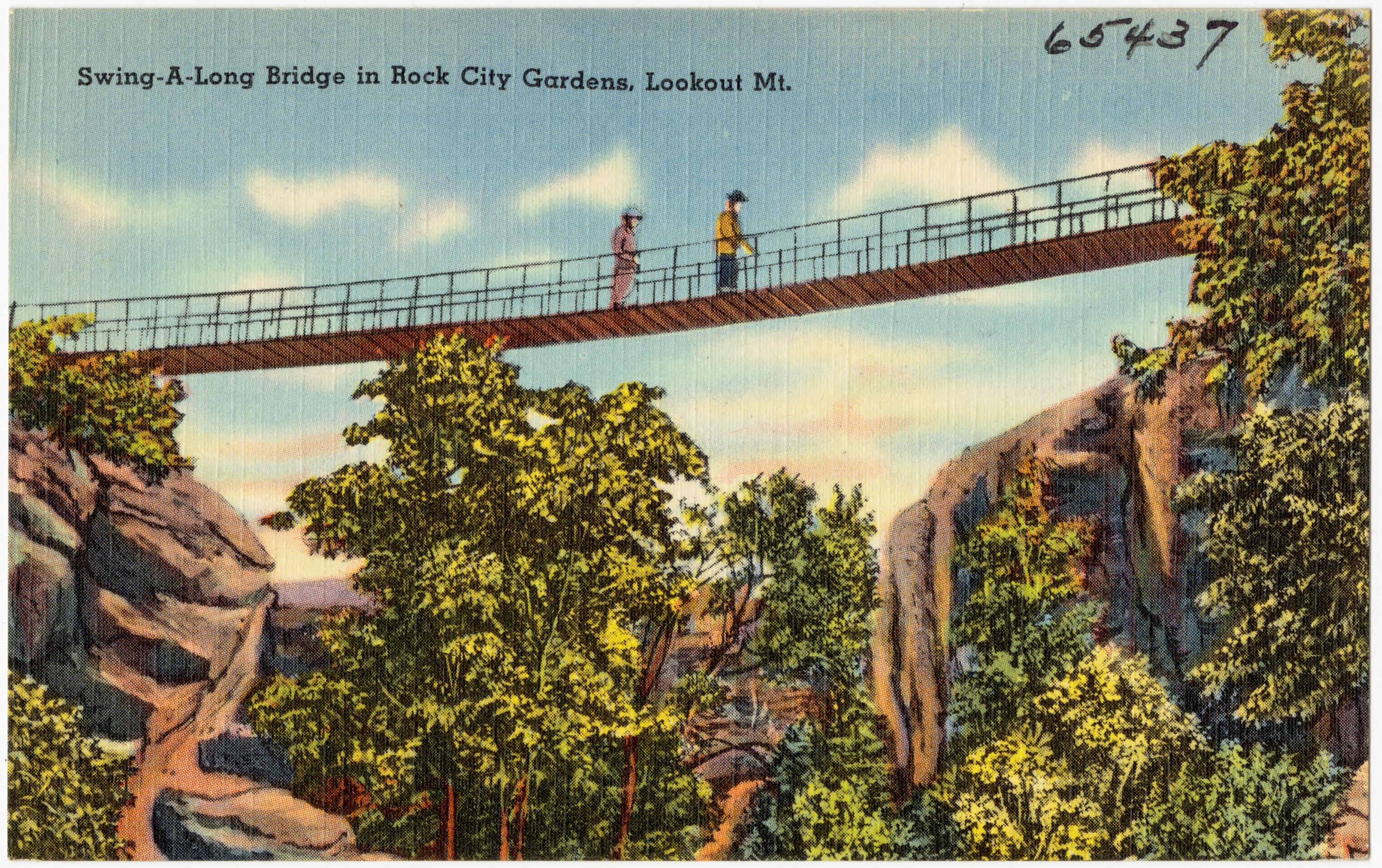 File:Swing-A-Long Bridge in Rock City Gardens, Lookout Mt (65437 ...
