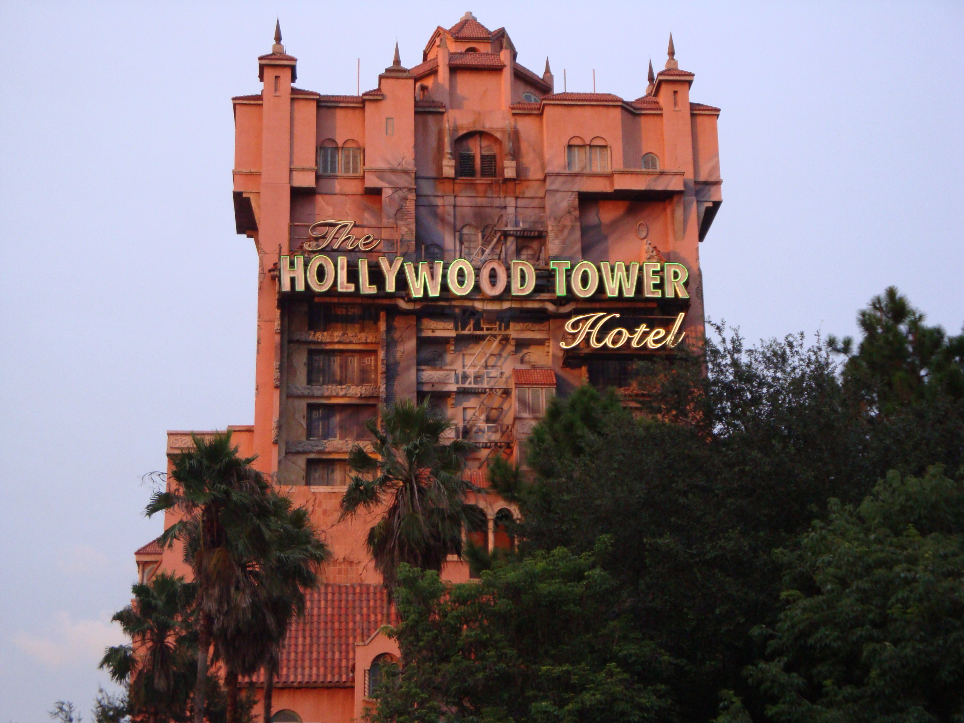 Twilight Zone Tower of Terror Disney World