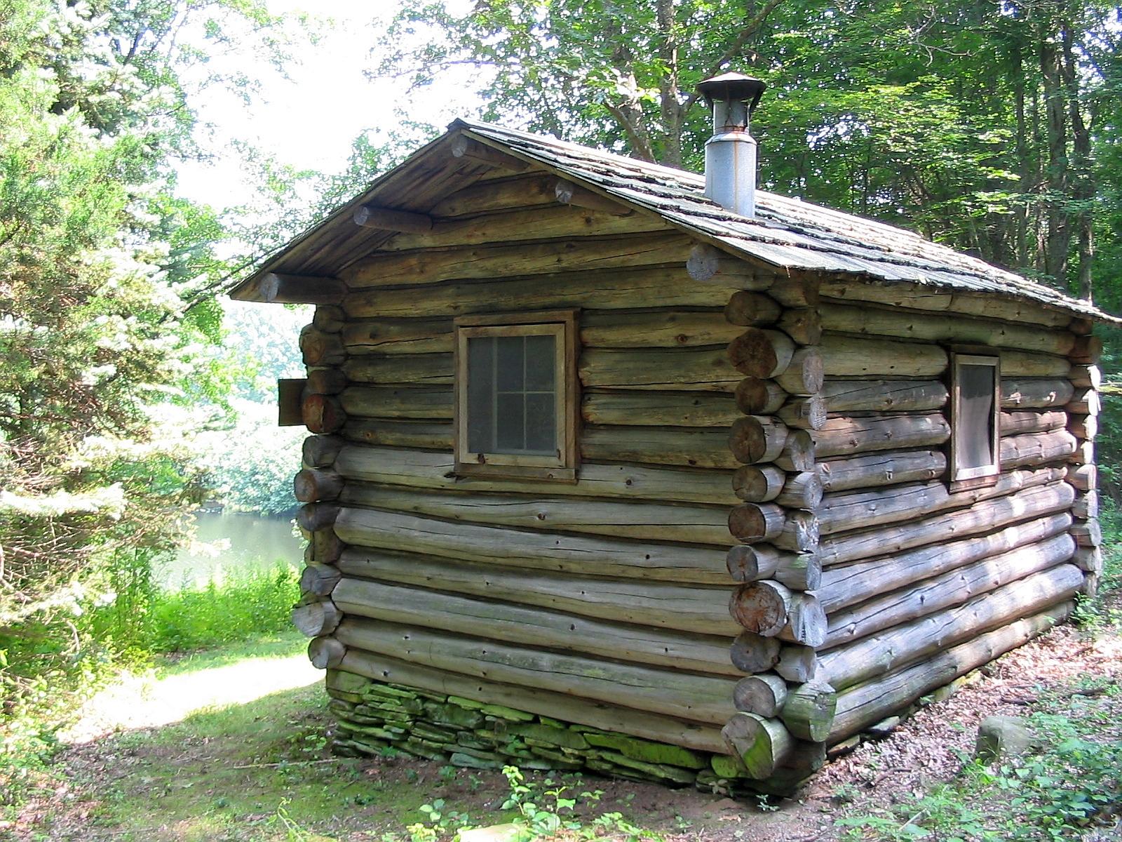 Trail Wood Writing Cabin