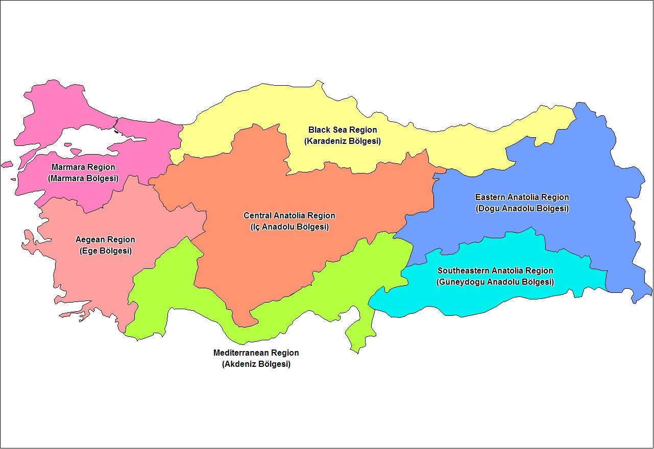 Turkey regions