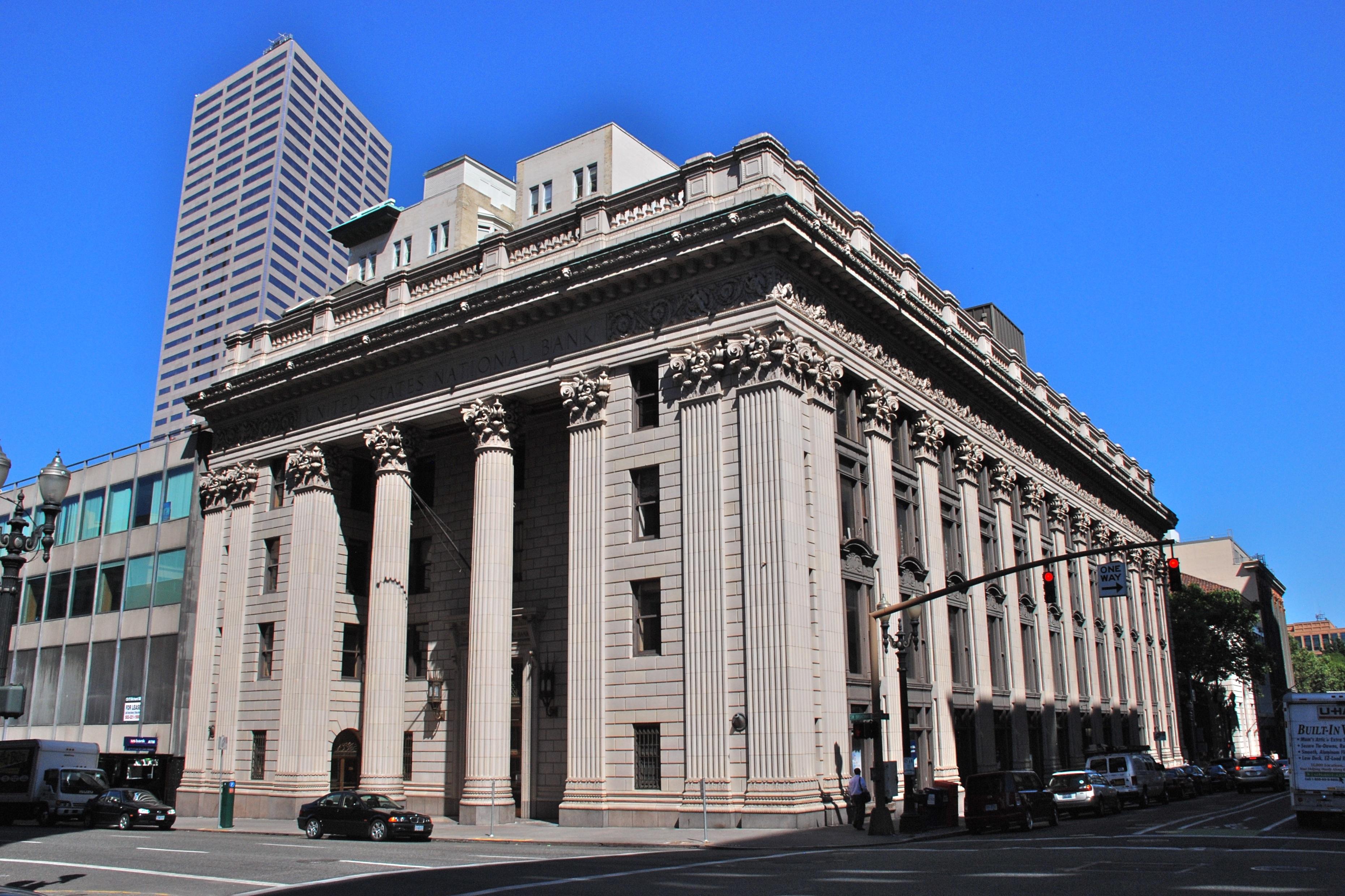File U S National Bank Building Portland