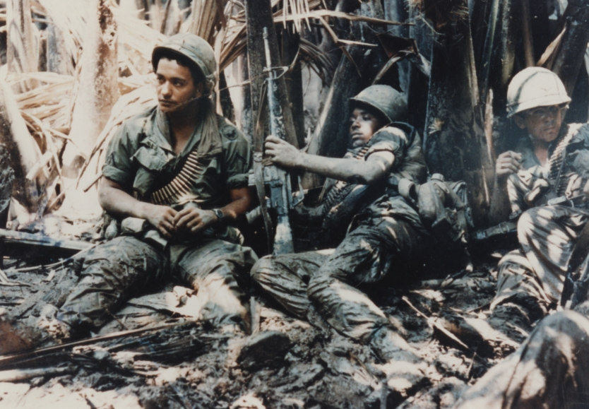 Fileus army troops taking break while on patrol in vietnam war fileus army troops taking break while on sciox Image collections