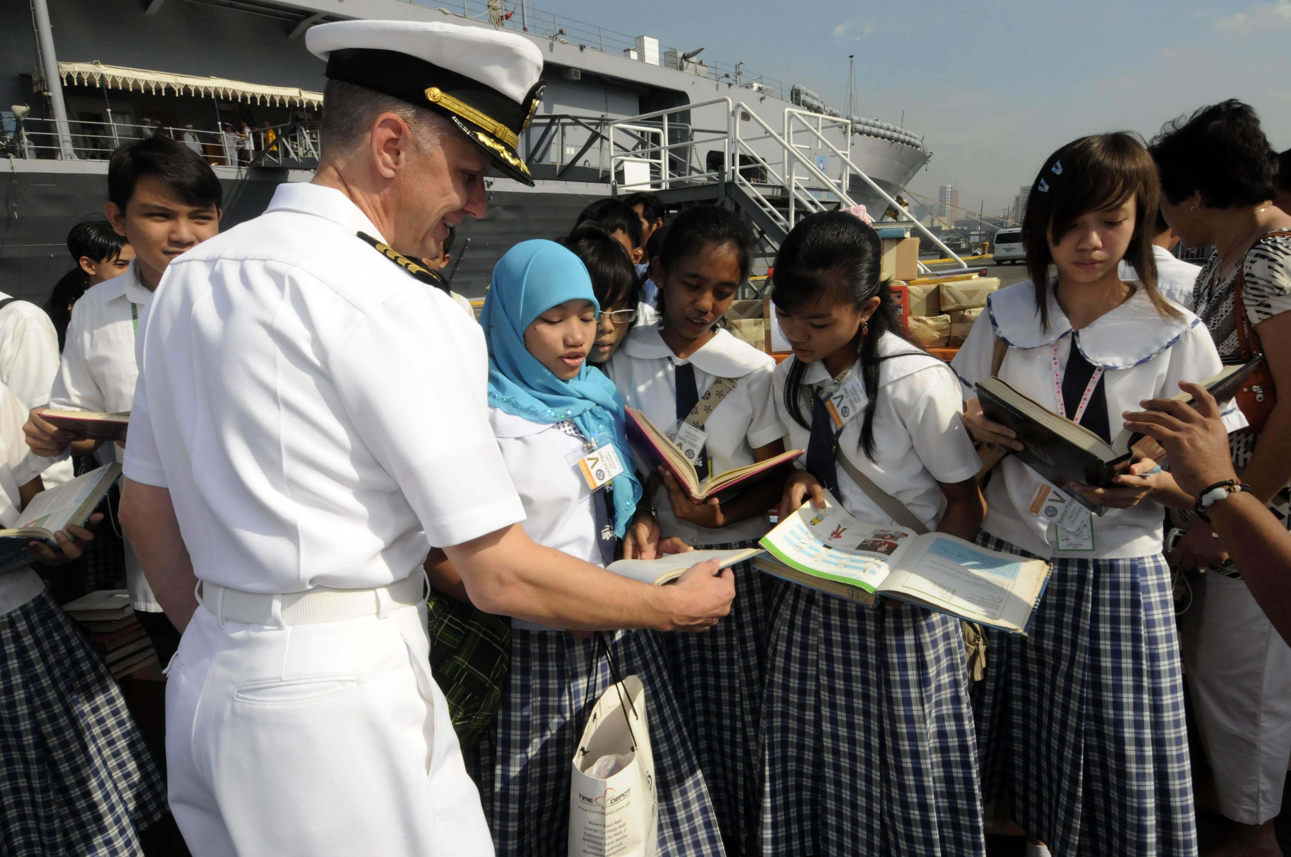 Fileus Navy 090220 N 3830j 045 Capt Thom W Burke Commanding