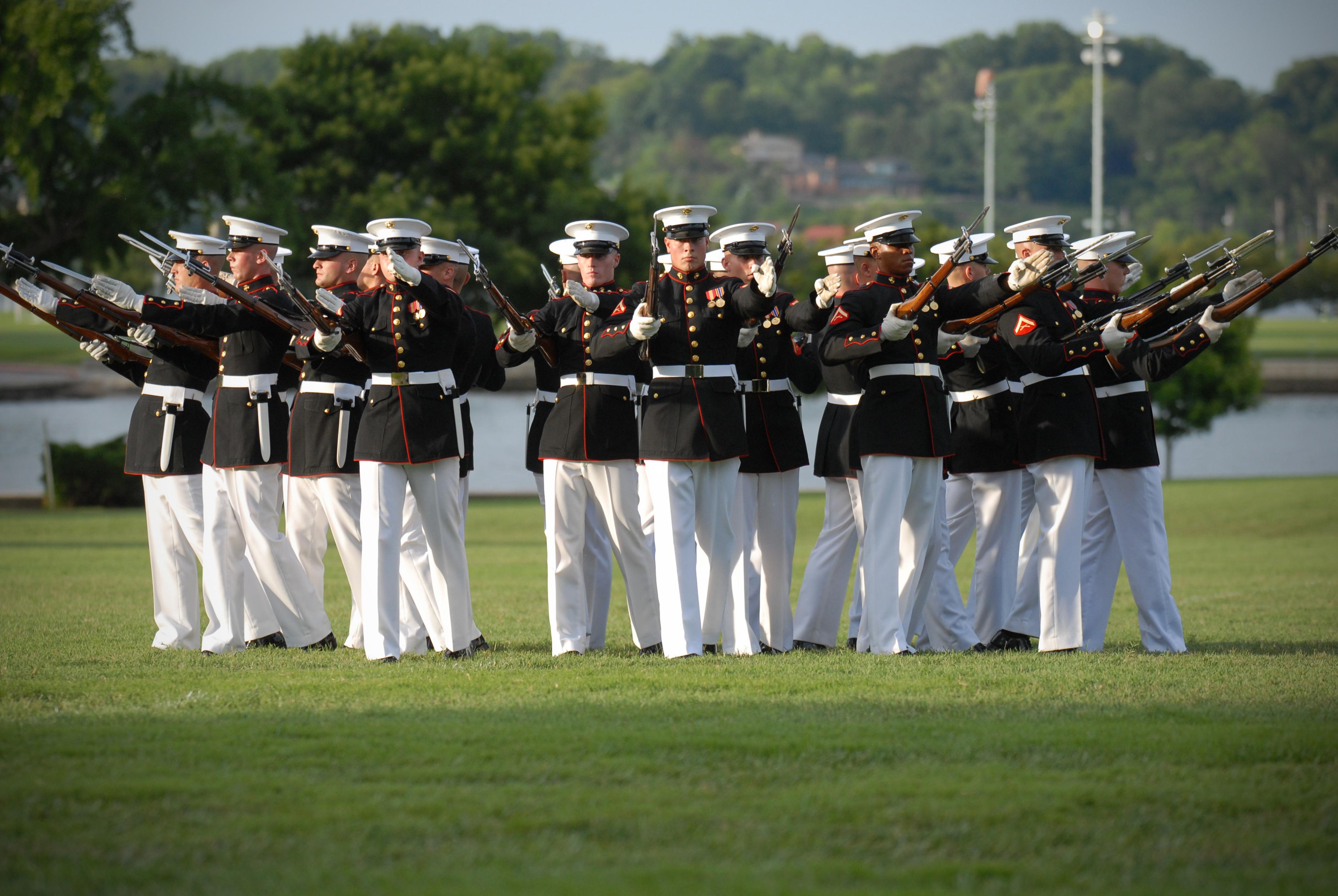 File:US Navy 110727-N-OA833-005 Members of the U.S. Marine ...
