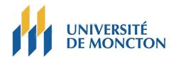 Logo of Université de Moncton