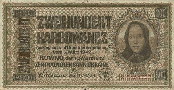UkraineP56-200Karbowanez-1942-donatedmjd f.jpg