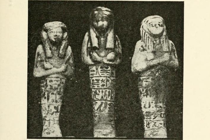 ushebtis Ushabtis_21st_dynasty_Petrie