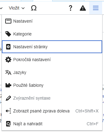 VisualEditor page settings item-cs.png