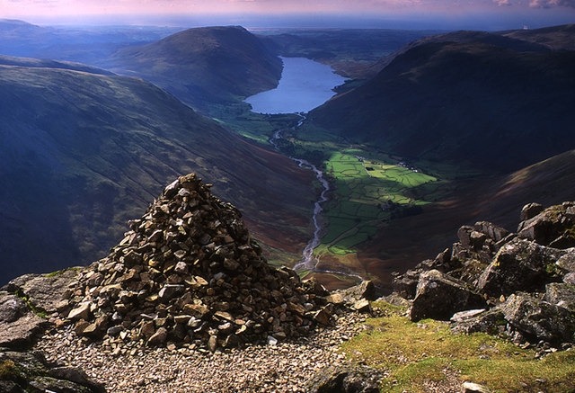 Westmorland Cairn, Great Gable - geograph.org.uk - 1050775