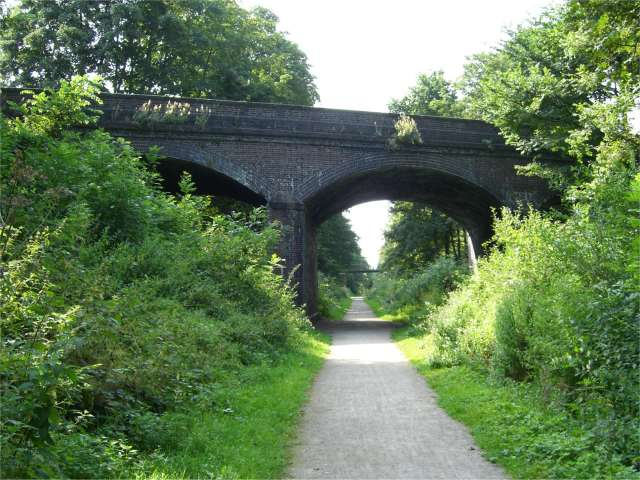 Wheelock Rail Trail - geograph.org.uk - 208887