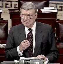 Senator William V. Roth, Jr. (R-DE), c. 2000