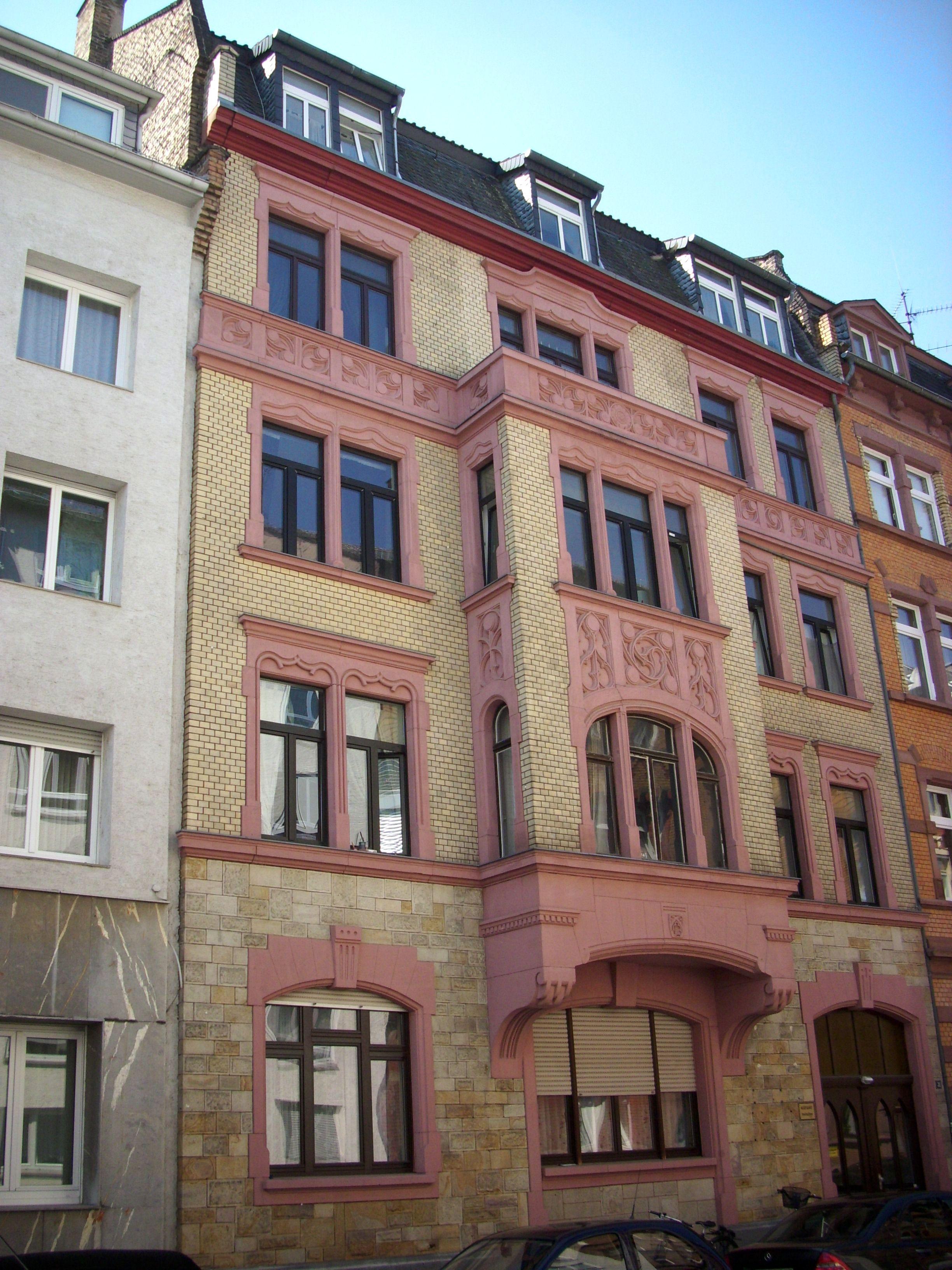 file wohnhaus lauterenstra e 31 mainz jpg wikimedia. Black Bedroom Furniture Sets. Home Design Ideas