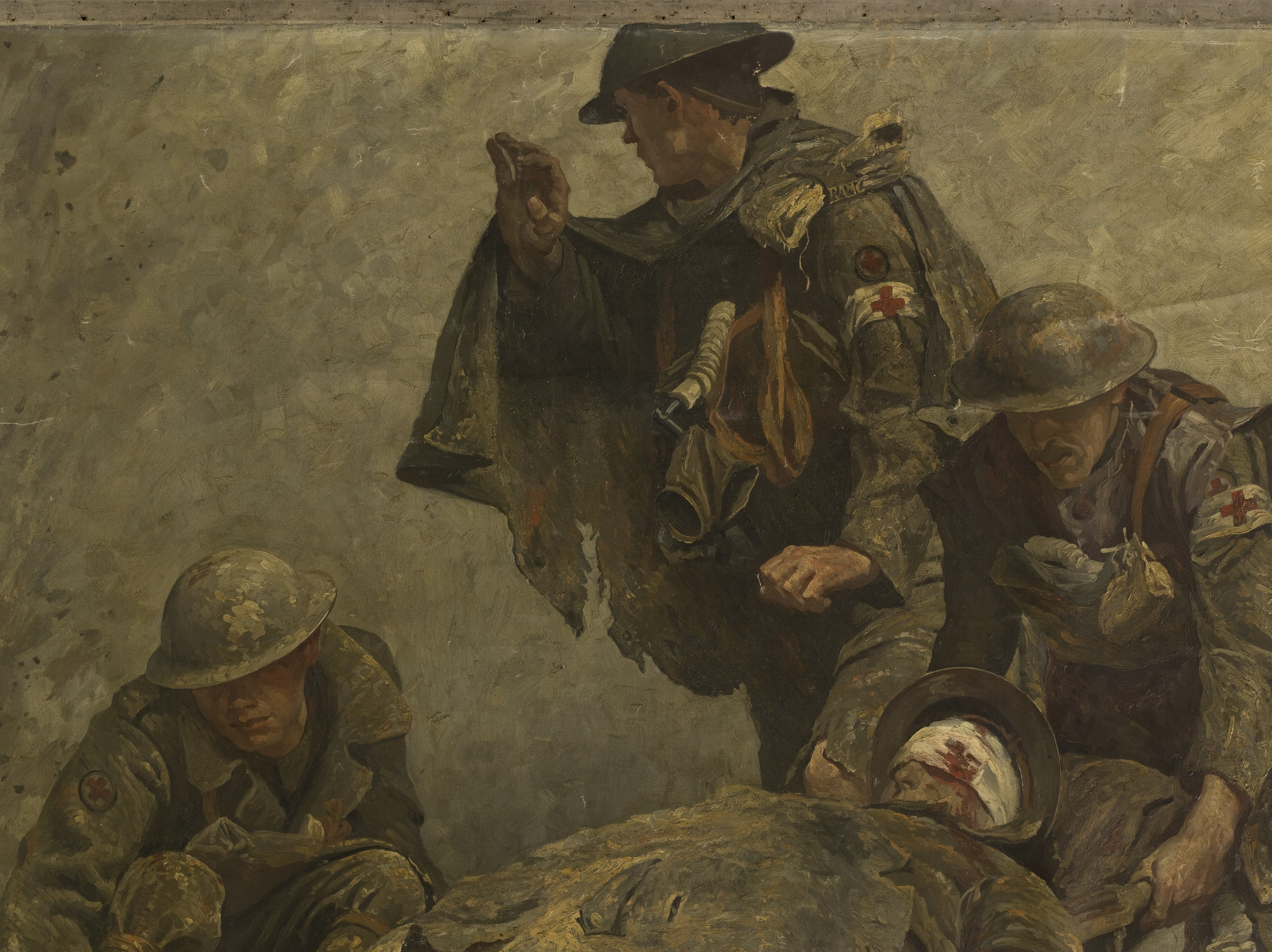 File World War I Stretcher Bearers Of The Royal Army