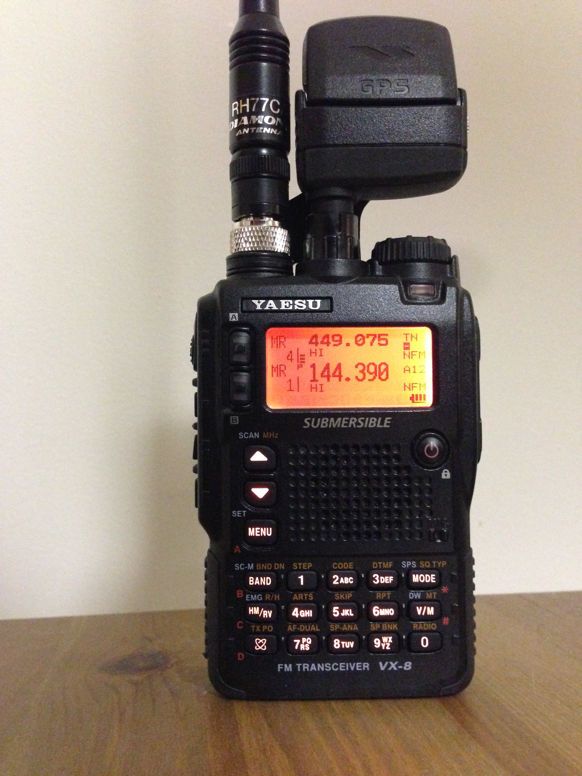 Yaesu VX series - Wikipedia, the free encyclopedia