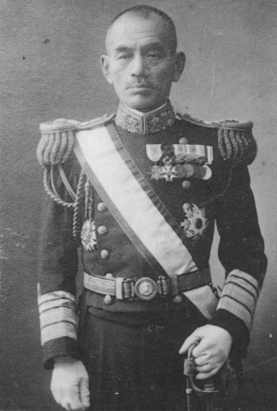Yamaya Tanin Japanese admiral