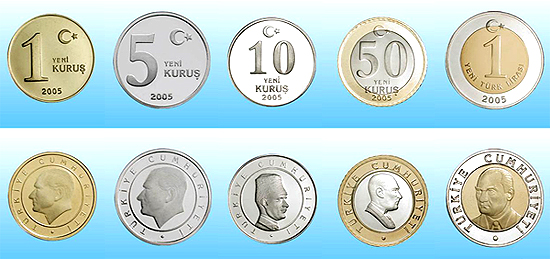 Сколько рублей стоит турецкая лира 2 копейки 1963 цена