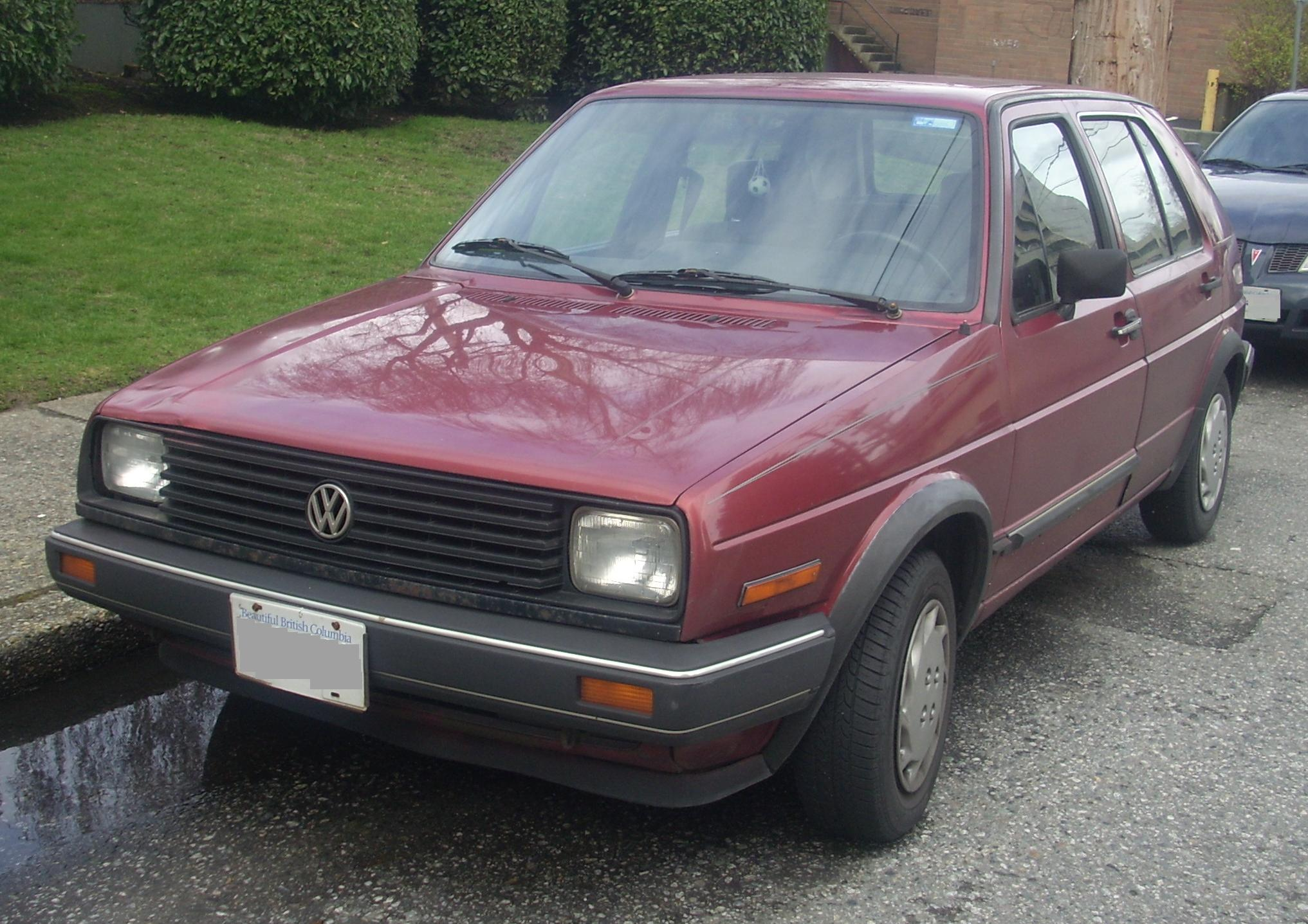 File 85 86 Volkswagen Golf Diesel 5 Door Front Jpg