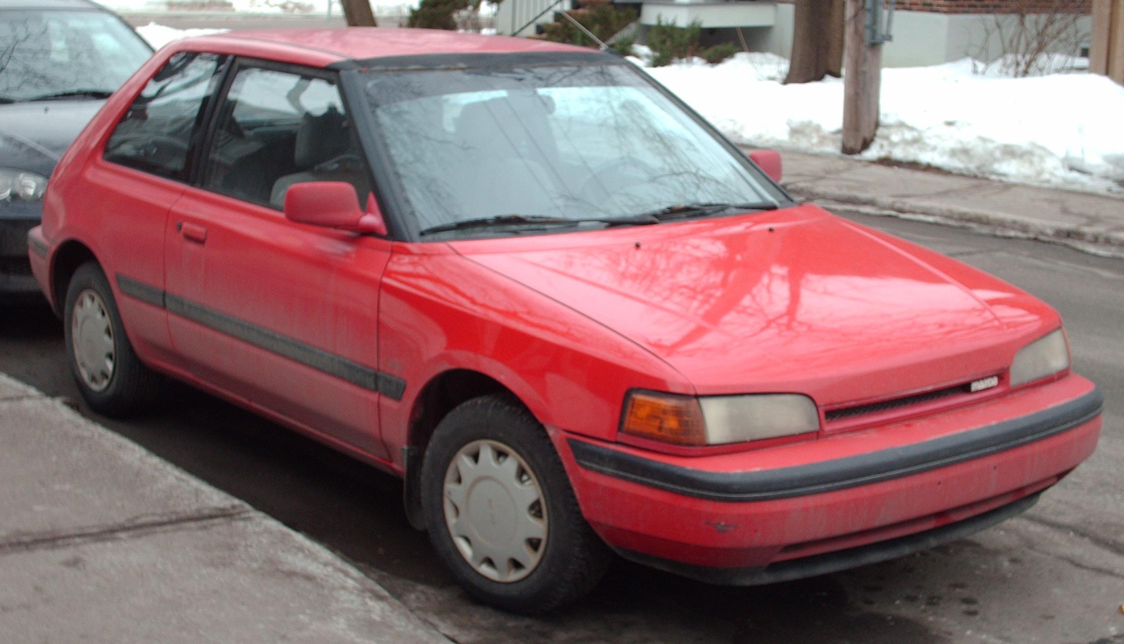 File90 92 Mazda 323 Hatchback