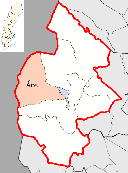 File:Åre Municipality in Jämtland County.png