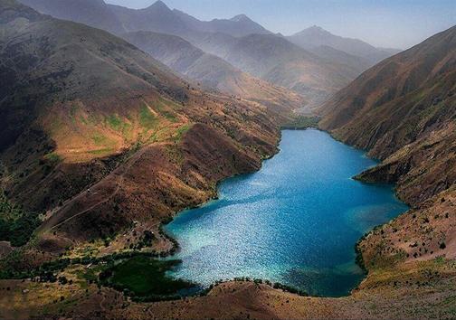 مسیر دسترسی به دریاچه گهر