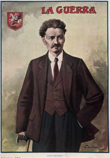 Image result for Trotsky in 1914 images