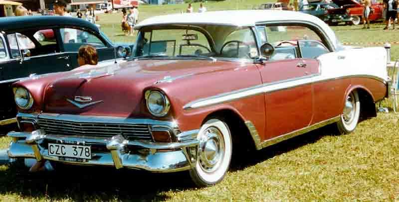 File 1956 chevrolet bel air 4 door ht for 1952 chevy belair 4 door