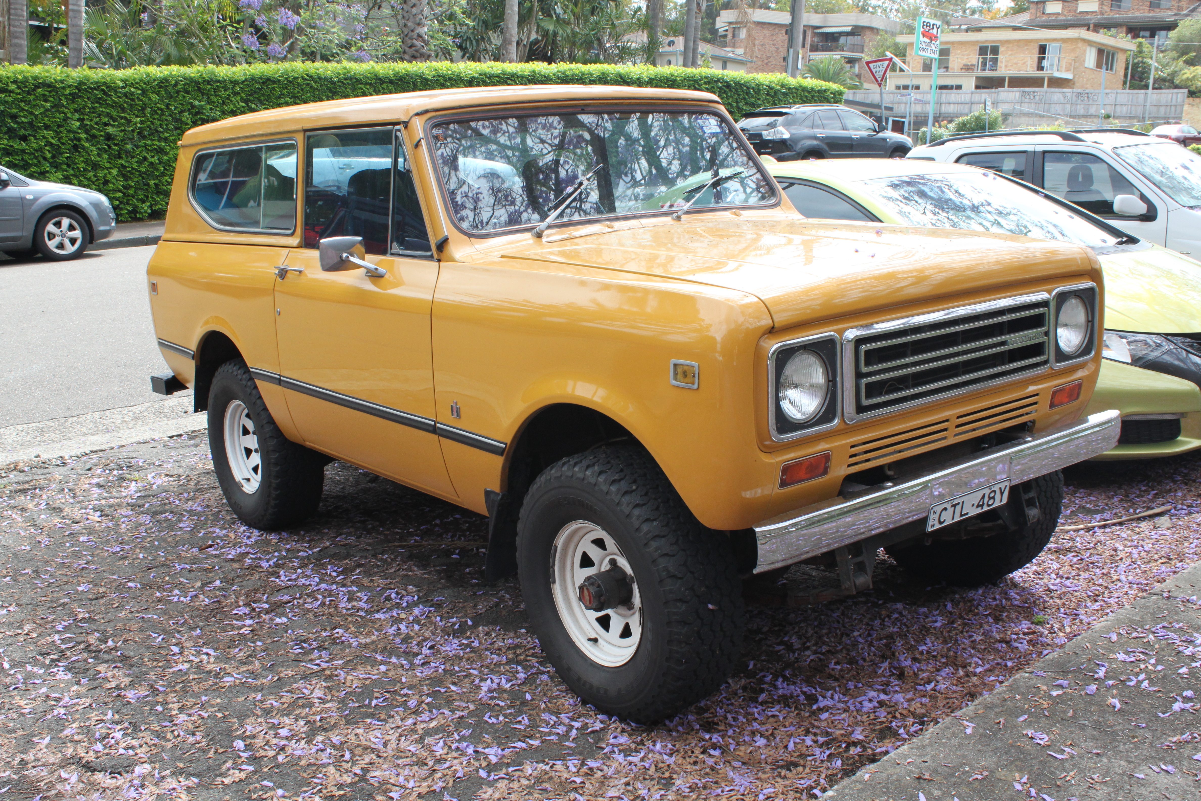 International Harvester Scout - Wikipedia