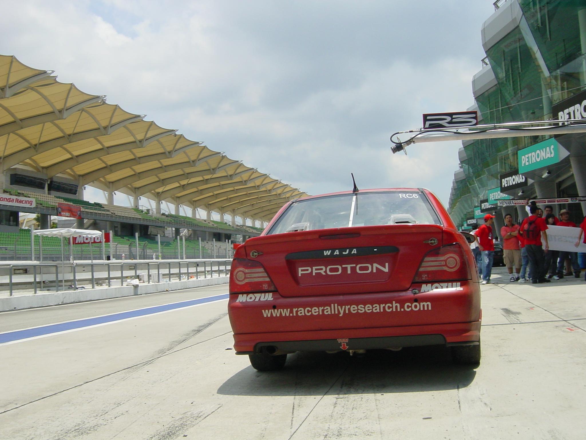 File:2006 Proton Waja MME racing car at Sepang Intl  Circuit