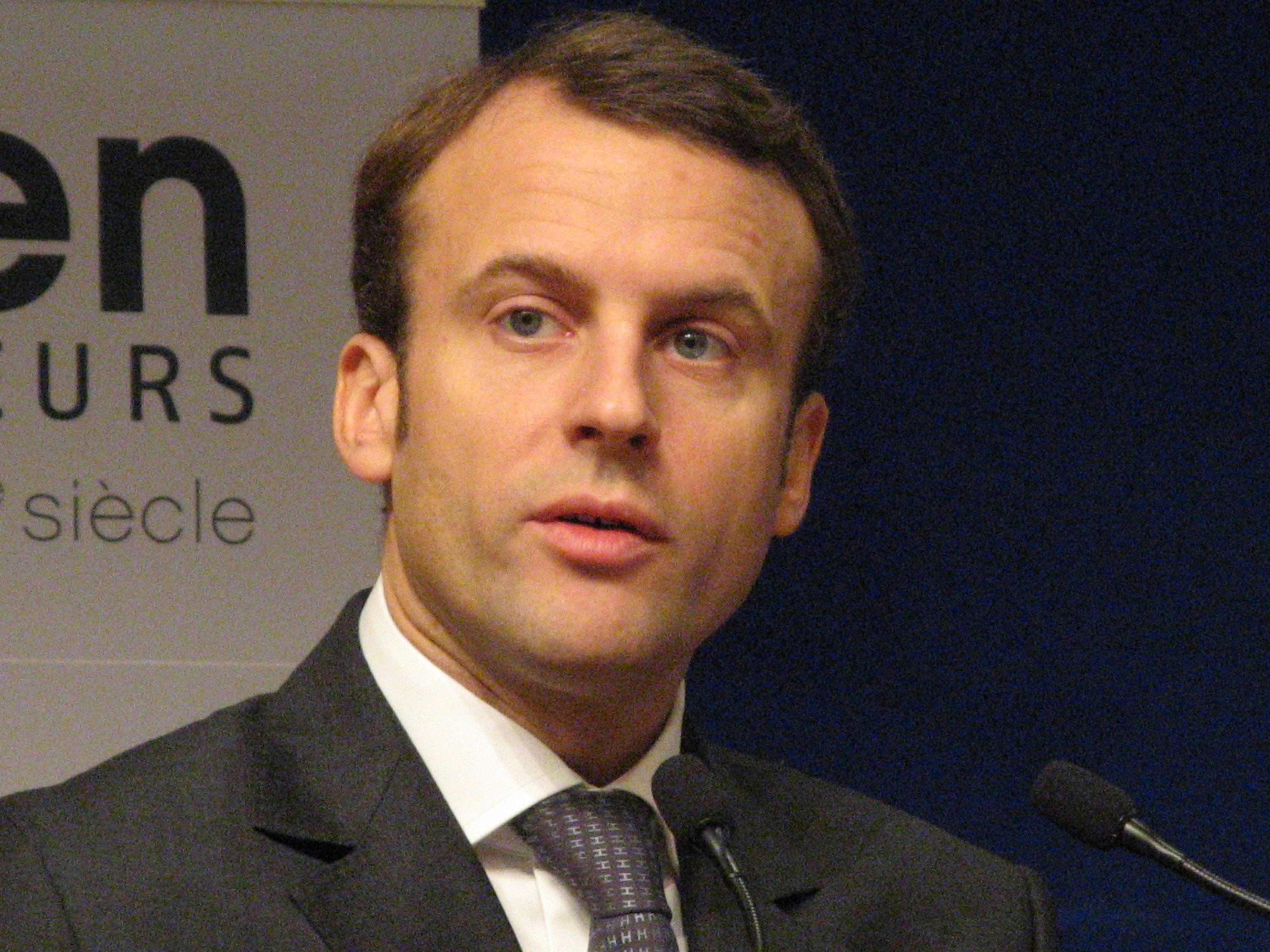 loading image for Emmanuel Macron