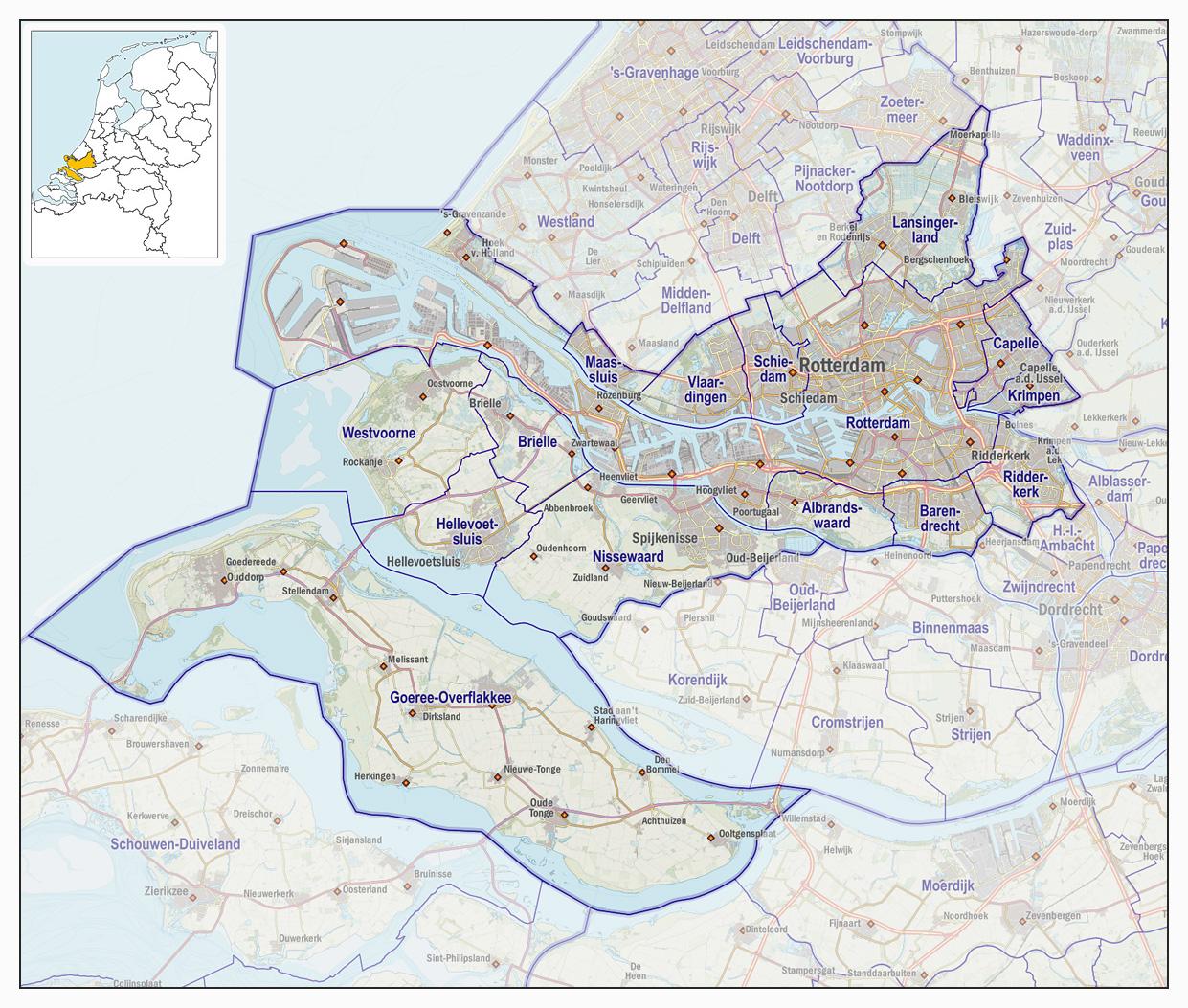 Veiligheidsregio Rotterdam Rijnmond Wikipedia