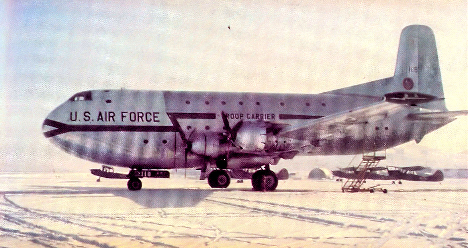 Image result for The 1951 Atlantic C-124 disappearance involved a Douglas C-124 Globemaster II